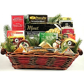 Say Cheese! Holiday Gift Basket