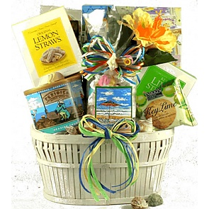 Seaside Snacks Gift Basket
