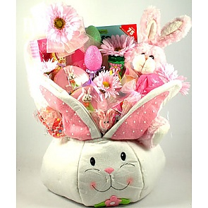 Some Bunny Loves You Gift Basket