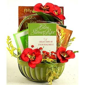 Gift Of Encouragement Gift Basket -