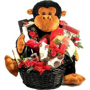 I'm Ape Over You Gift Basket