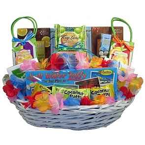 Beach Party - Tropical Treats Gift Basket