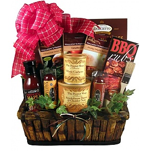 The Grill Master Deluxe Gift Basket