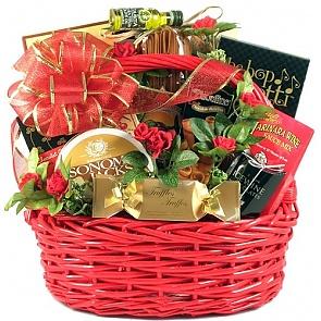 Date Night Romantic Gift Basket