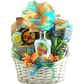 Seaside Scent-sation Tropical Spa Gift Basket