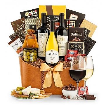 Premier Selection Wine Gift Basket
