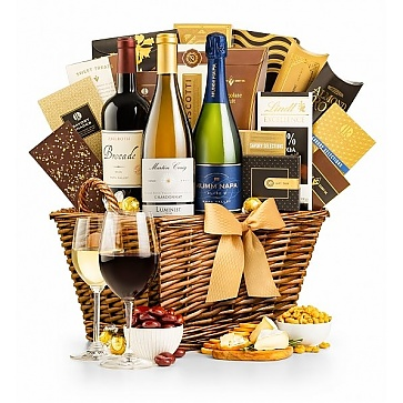 The Santa Barbara Wine Gift Basket