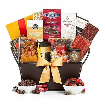 Chocolatier's Delight Gift Basket