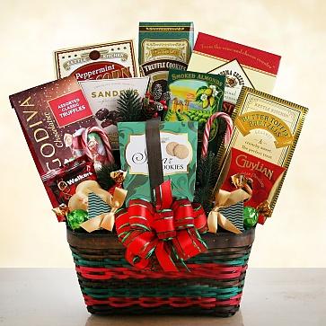 Seasons Greetings Christmas Merrymaker Gift Basket