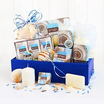 Seashell Ocean Spa Gift Basket