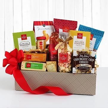 Hickory Farms Holiday Savory Gift Box