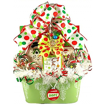 All The Trimmings Christmas Gift Basket