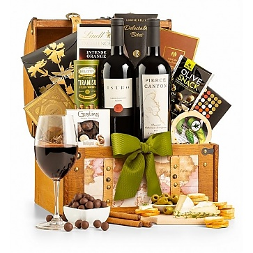 California Cabernet Duo Wine Gift Basket