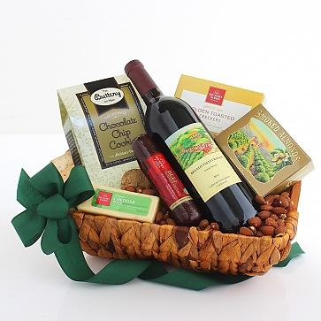 Cheers! California Wine Basket