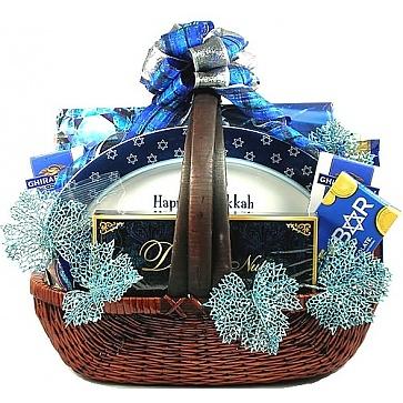 Shalom! Hanukkah Gift Basket