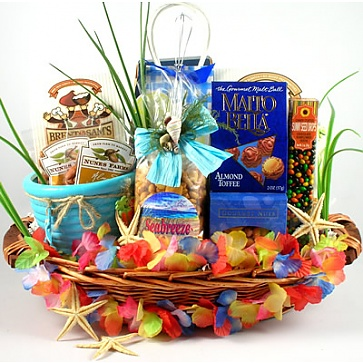 Big Kahuna Tropical Gift Basket