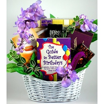 Birthday Surprise Gift Basket