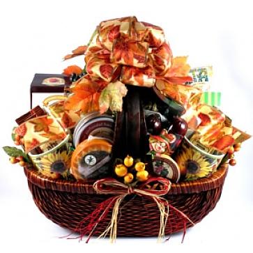 Bountiful Harvest Gift Basket