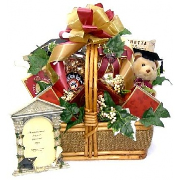 Congrats Grad Gift Basket (Medium)