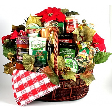 Family Christmas Gift Basket (Large)