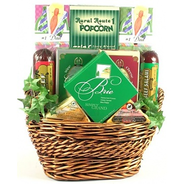 Father's Day Snack Attack Gift Basket