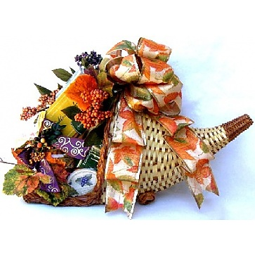 Horn of Plenty Gift Basket