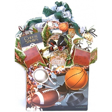 Nuts About Sports Gift Basket