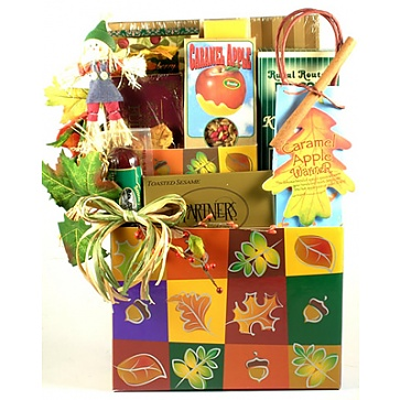 Patchwork Treasures Fall Gift Basket