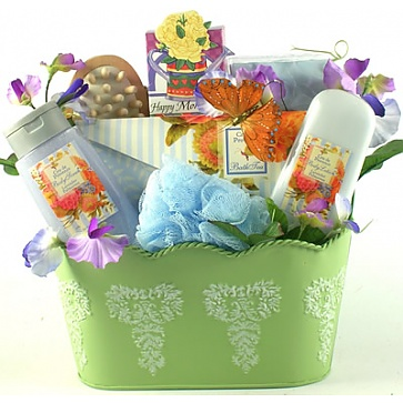 Spa Therapy Gift Basket For Women