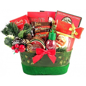 Holiday Surprise Gift Basket