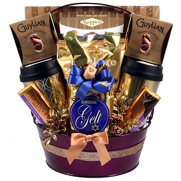 Hanukkah Surprise Luxury Sweets Gift Basket