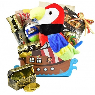 Ahoy Matey! Pirate Themed Easter Basket