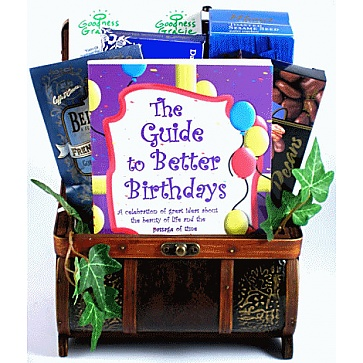 Birthday Treasures Birthday Gift Basket