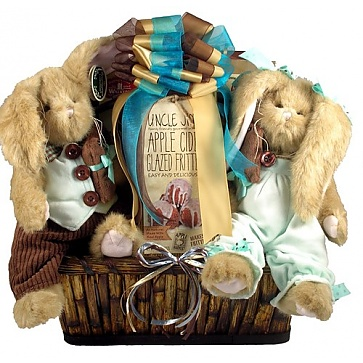 Bunny Patch Deluxe Easter Gift Basket