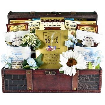 Christian Heart Gift Basket