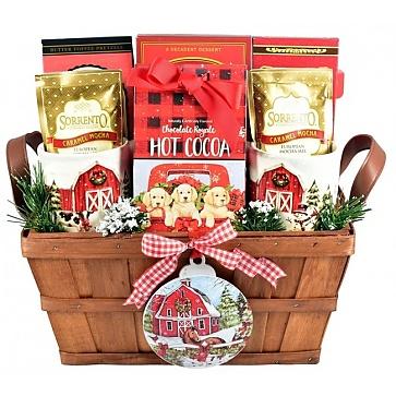 Christmas on the Farm - Christmas Gift Basket
