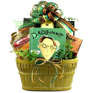 Dadgummit! Father's Day Gift Basket for Dad