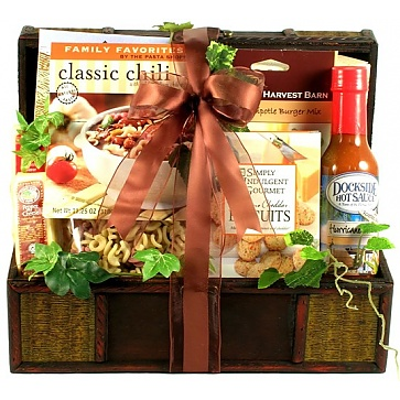 Father's Day Favorites Gift Basket For Dad