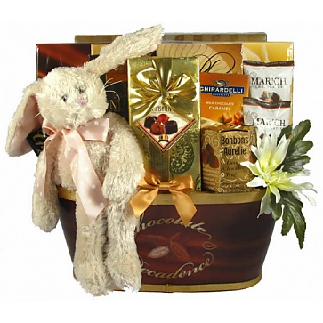 Easter Decadence Chocolate Gift Basket
