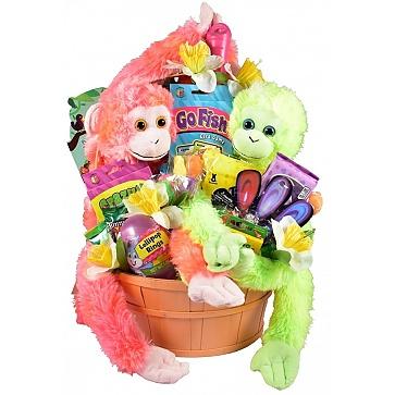 Easter Party Basket, Easter Basket For One Or More Kids