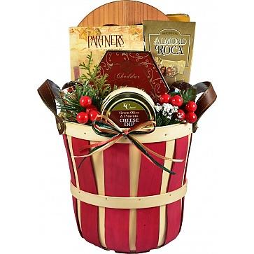Festive Favorites, Holiday Gift Basket