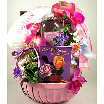 Get Well Soon For Her Gift Basket
