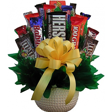 Golf Lovers Candy Bouquet