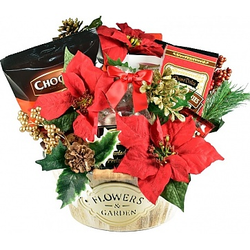 Gourmet Holiday Garden Gift Basket
