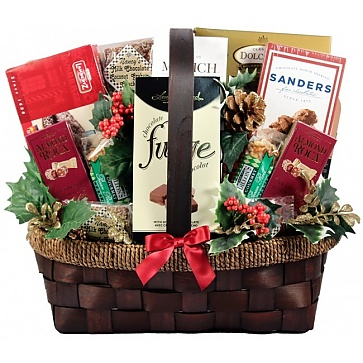 The Grandest Of Them All Deluxe Holiday Gift Basket (Small)