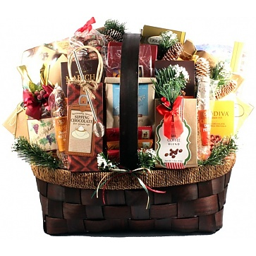 The Grandest Of Them All Deluxe Holiday Gift Basket (Deluxe)