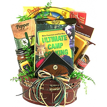 Happy Camper Gift Basket