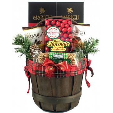 Holiday Traditions Gift Basket (Small)