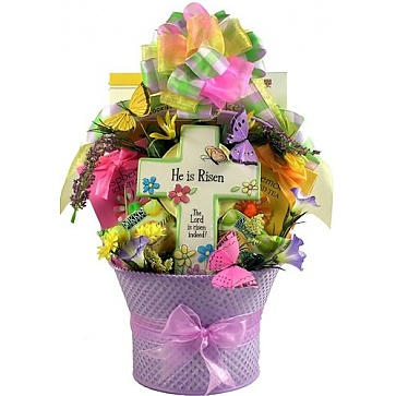 Jesus Lives! Easter Basket