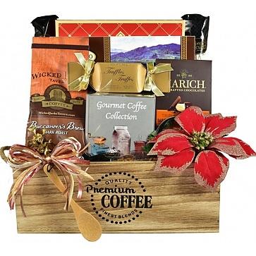 The Jingle Java Café Coffee Gift Basket